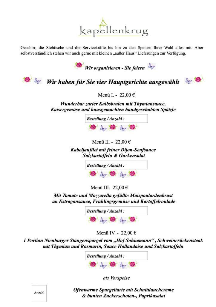 Muttertag 2020 Niedersachsen